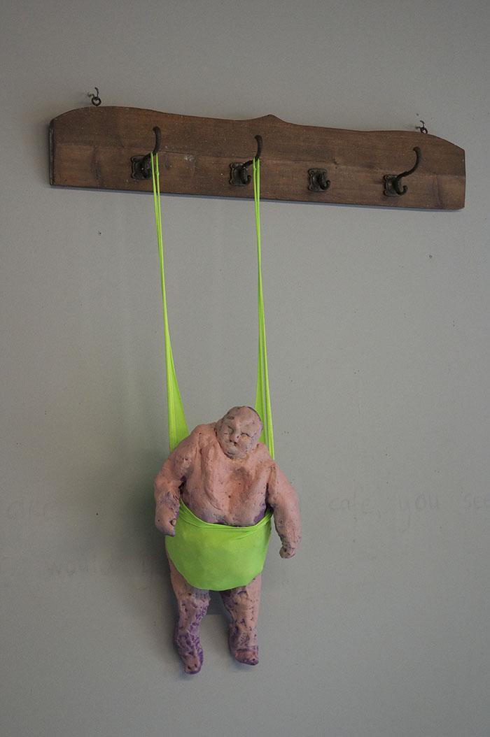 Opgehangen